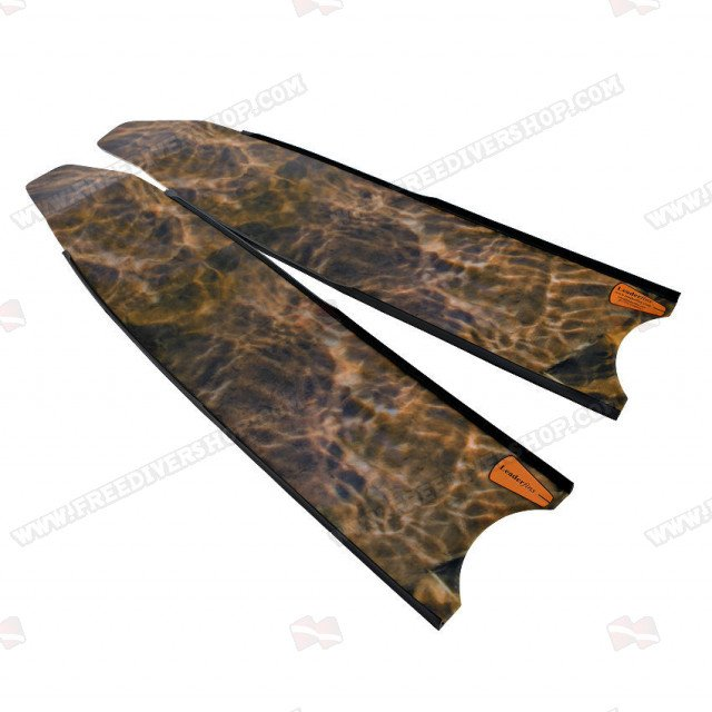 Leaderfins Brown Camouflage Fin Blades