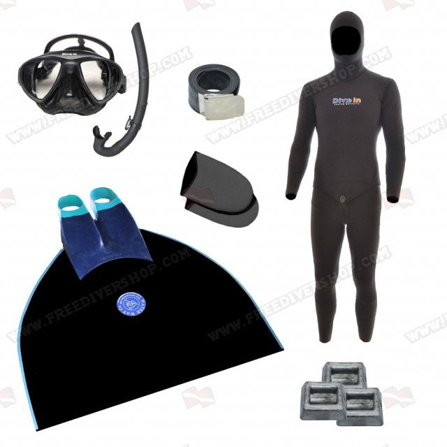 Freediving Monofin Essentials Bundle