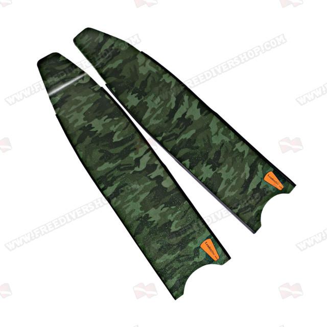 Leaderfins Wave Camouflage Alga SB Fin Blades