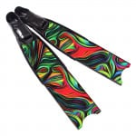 Leaderfins Acid Rainbow Fins - Limited Edition
