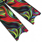 Leaderfins Acid Rainbow Blades - Limited Edition