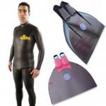 Freediver Basic Monofin Bundle