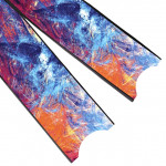 Leaderfins Color Flow Blades - Limited Edition