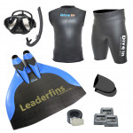 Freediving Monofin Pro Carbon Kit