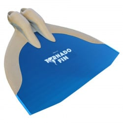 WaterWay Finswimming Tornado Monofin - Blue Blade