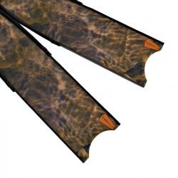 Leaderfins Brown Camouflage Fin Blades
