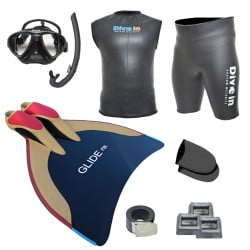 Freediving Monofin Pro Kit