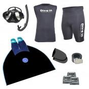 Freediving Monofin Essentials Kit