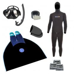 Freediving Monofin Essentials Bundle