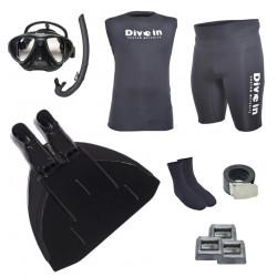 Freediving Monofin Power Kit