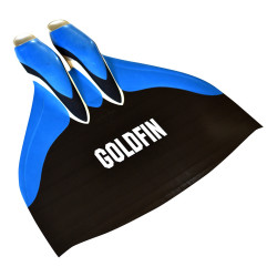 GoldFin Freediving Hyper Monofin (Waveform Blade)