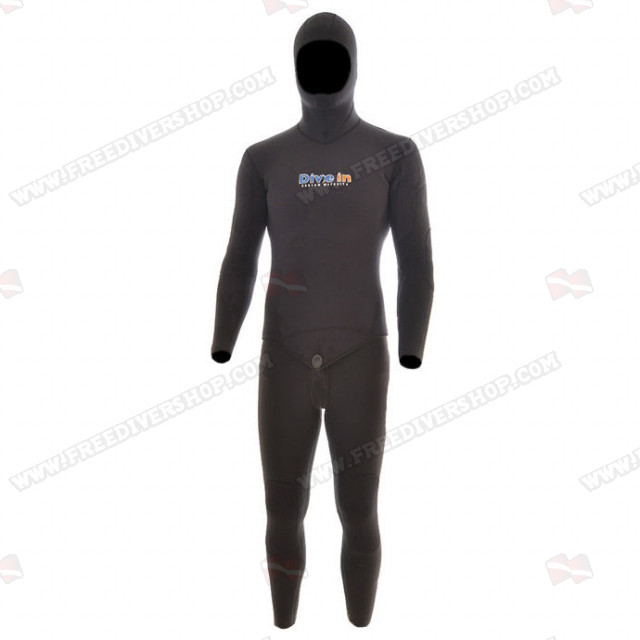 Divein Spaccato Black Wetsuit