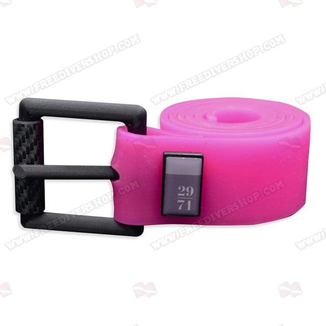 29/71 Pink Silicone Weight Belt