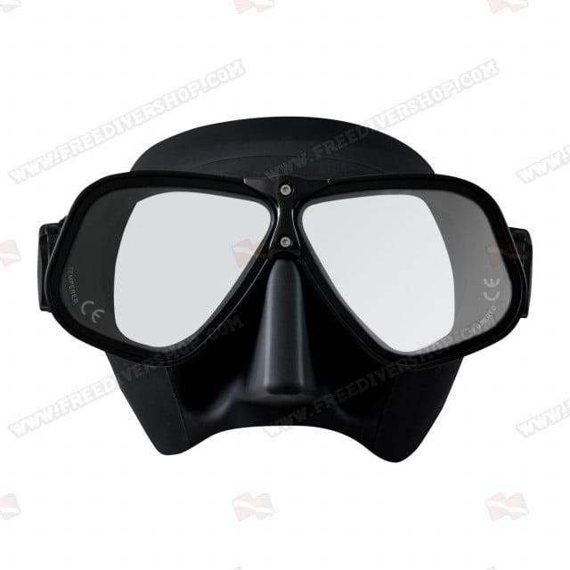 29/71 Black Ergonomic Freediving Mask