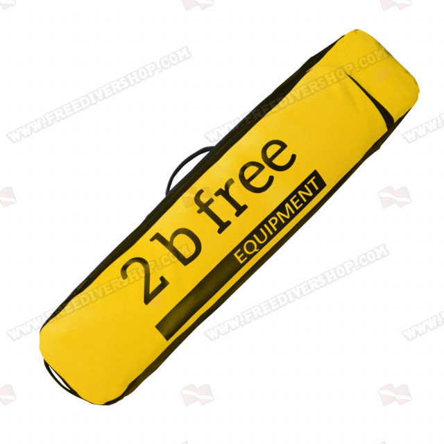 2BFREE Yellow Long Fins Bag