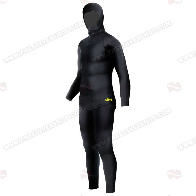 Elios Smoothskin Black - Tailor Made Wetsuit