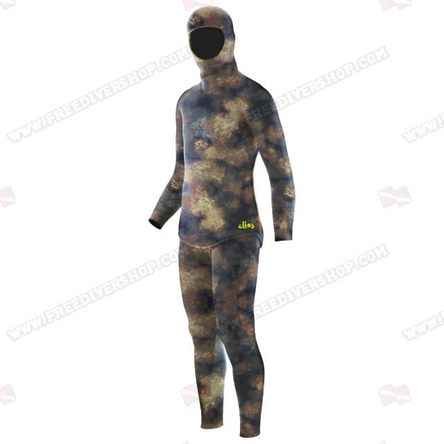 Elios Hyperstretch Beige Camouflage Wetsuit