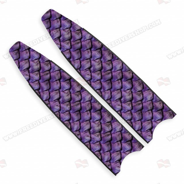 Leaderfins Crystal Reptile Skin Blades - Limited Edition