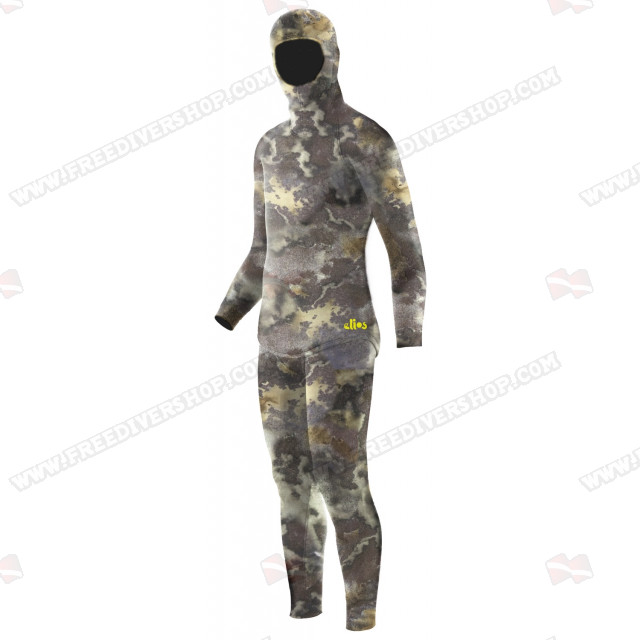 Elios 3D Green Hydro Camo - Tailor Made Wetsuit