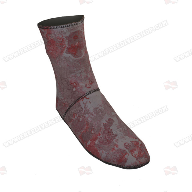 Divein Red Camo Dive Socks
