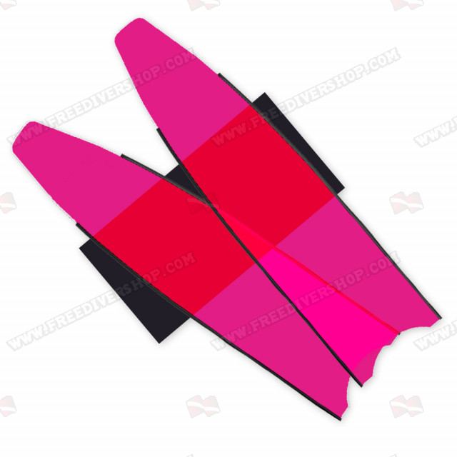 Leaderfins Neon Pink Blades - Limited Edition