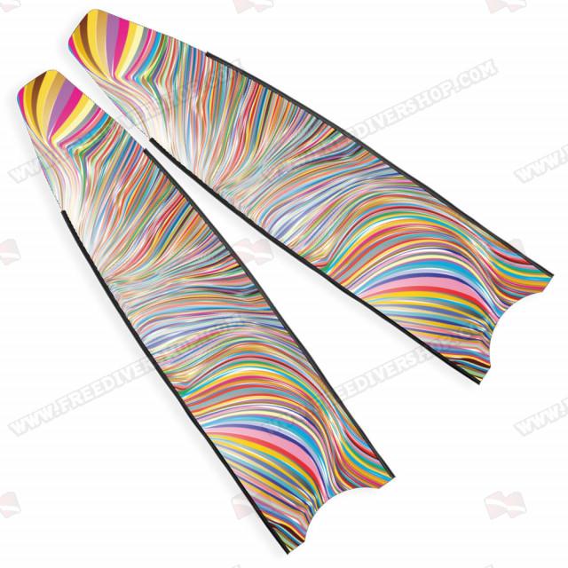 Leaderfins Neon Rainbow Blades - Limited Edition