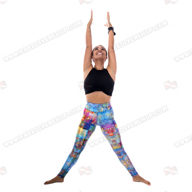 SlipIns Pixelated Dive/Surf Leggings