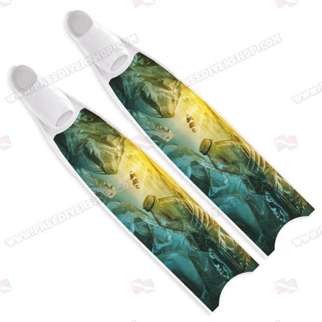 Limietd Edition - Leaderfins Plastic Sunset Fins