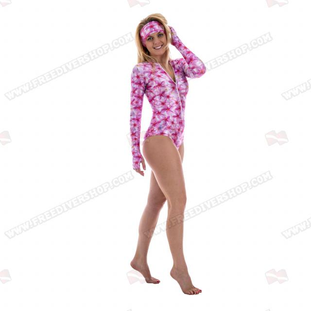 SlipIns Plumeria Sun Protective Swimsuit