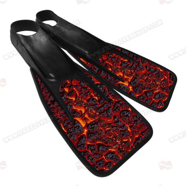 Leaderfins UW Games Lava Fins - Limited Edition