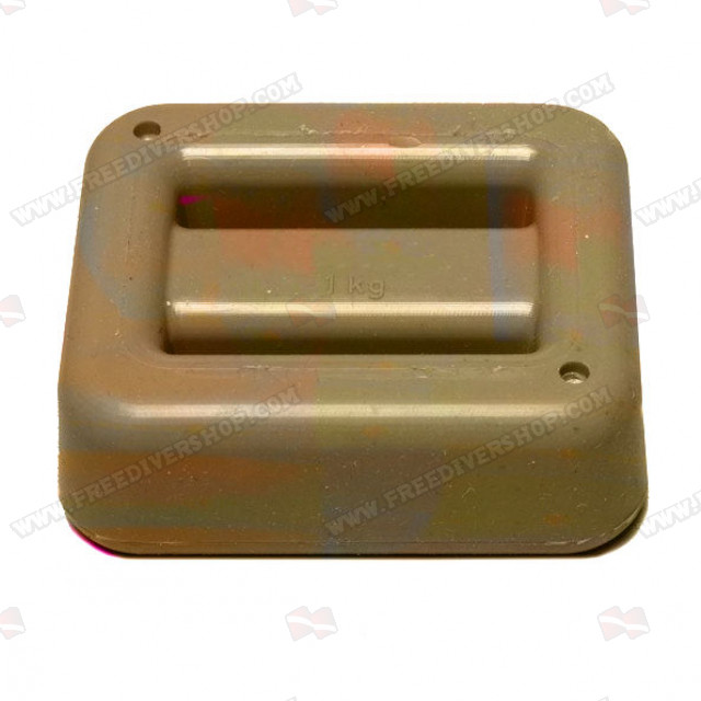1 kg / 2.2 lbs Rubber Coated Belt Weight