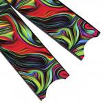 Leaderfins Acid Rainbow Blades - Limited Edition