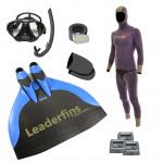 Freediving Monofin Pro Carbon Bundle