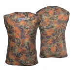 Divein Orange Camo Dive Vest