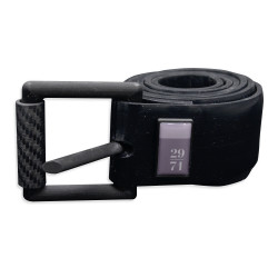 29/71 Black Silicone Weight Belt