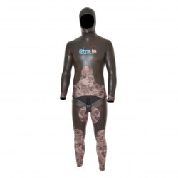 Divein Combo Brown Camouflage Wetsuit