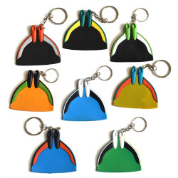 Assorted Color Monofin Keyrings
