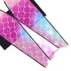 Leaderfins Neon Mermaid Blades - Limited Edition