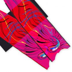 Leaderfins Neon Fish Blades - Limited Edition