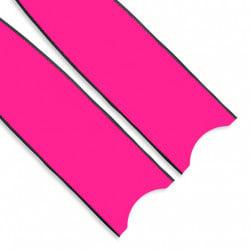 Leaderfins Pure Carbon Fuxia Fin Blades
