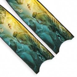 Leaderfins Plastic Sunset Blades - Limited Edition