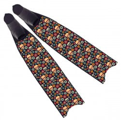 Leaderfins Flower Skull Fins - Limited Edition