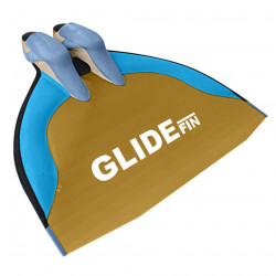 WaterWay Finswimming Glide Monofin - Yellow Blade