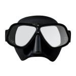 29/71 Black Ergonomic Freediving Mask