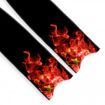Leaderfins Chinese Flame Blades - Limited Edition