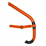 Frontal Swimming Snorkel - Orange Spark