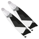 Leaderfins Monochrome Fins - Limited Edition