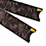 Leaderfins Carbon Fiber Camouflage Fin Blades