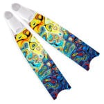 Leaderfins Neon Glass Fins - Limited Edition