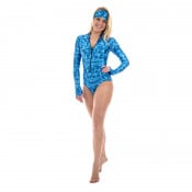 SlipIns Aqua Mermaid Sun Protective Swimsuit